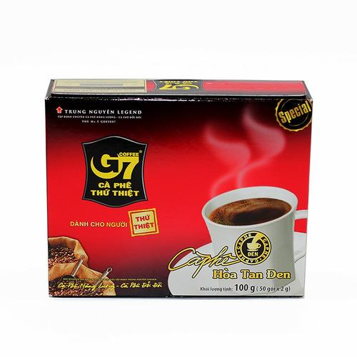 Cafe hòa tan G7 đen Hộp 50 gói (Thùng 10 Hộp) - Hình 6