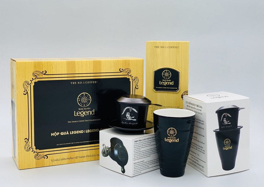 Hộp quà cafe Legend 3in1 Trung Nguyên