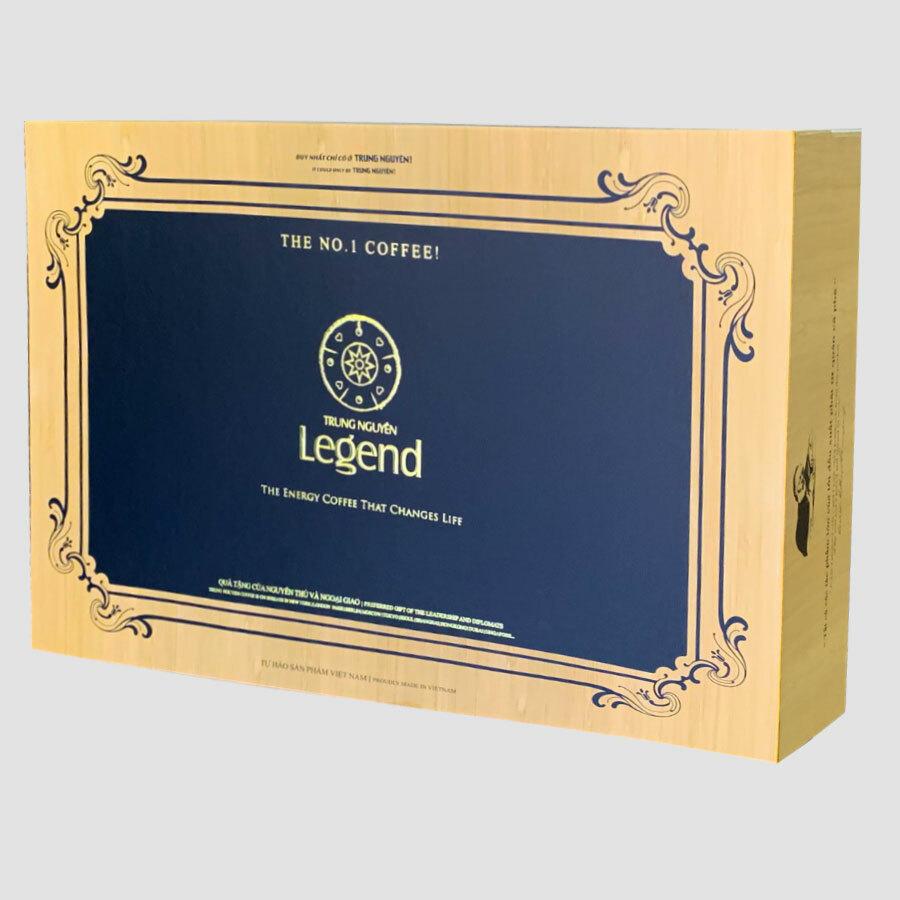 Hộp Quà Cafe Legend Trung Nguyên( Hộp Legend Gift)