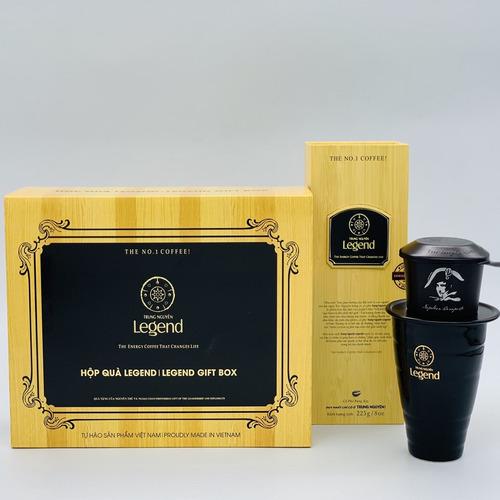 Hộp quà cafe Legend 3in1 Trung Nguyên - Hình 1