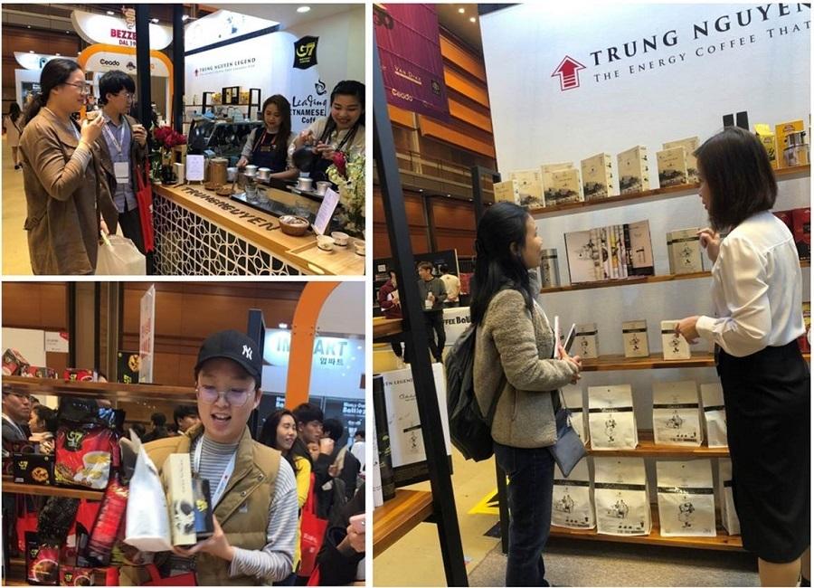 Địa chỉ mua cà phê chế phin Trung Nguyên tại Việt Nam