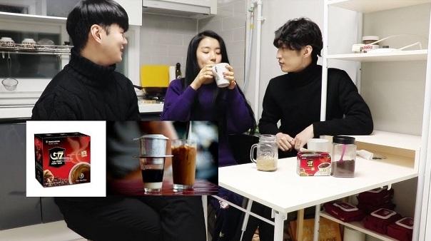 Cà phê Trung Nguyên người Hàn Quốc hay uống nhất tại VN