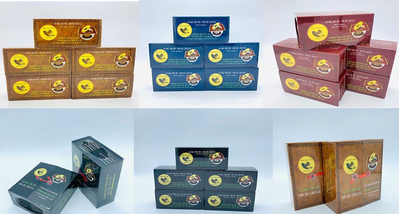Sự khác nhau giữa 7 loại cà phê con sóc phin lọc tại Huyền Thoại Việt