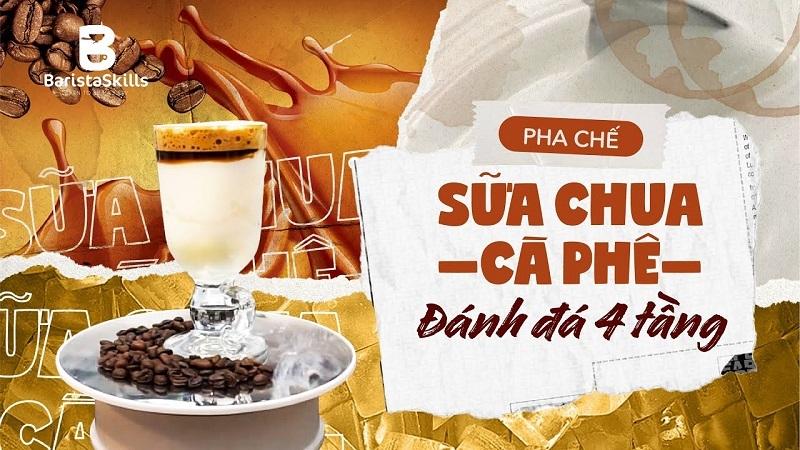 Sữa Chua Cà phê - Hướng dẫn cách làm Sữa chua Cà phê cực ngon, Cực dễ