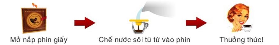 Hướng dẫn dùng cà phê túi lọc